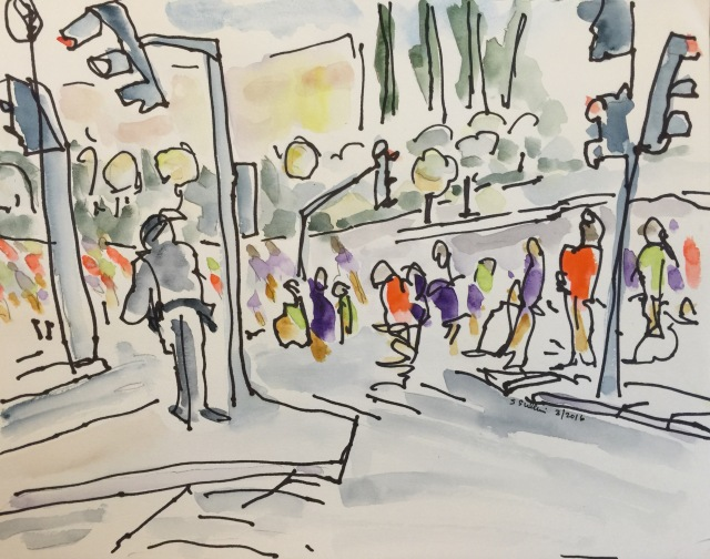 Figures in an intersection