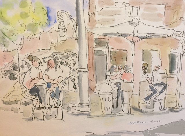 Jaffa Street Scene