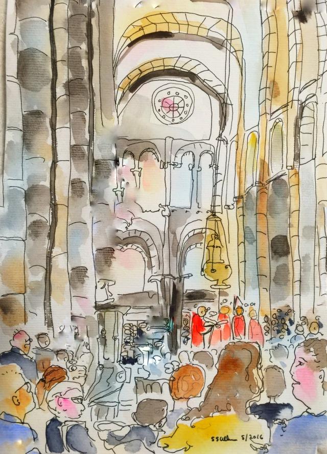 Mass at Santiago de Compostela Cathedral