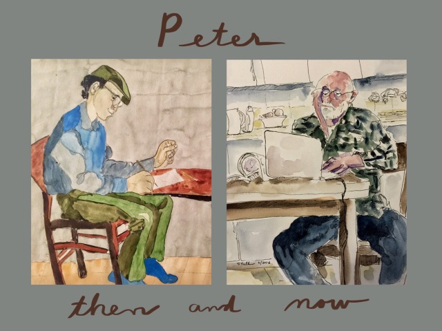 Peter Then and Now