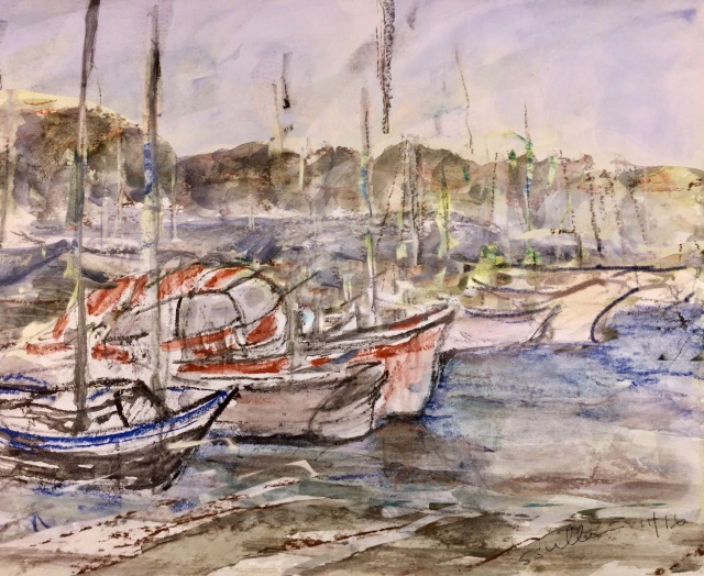 Boats at Shelter Island