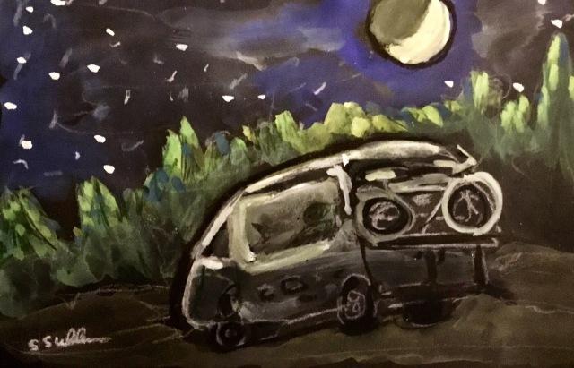 Under a Half Moon by Sarah Sullivan