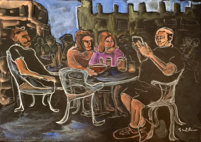 Zócalo de Cuernavaca by Sarah Sullivan