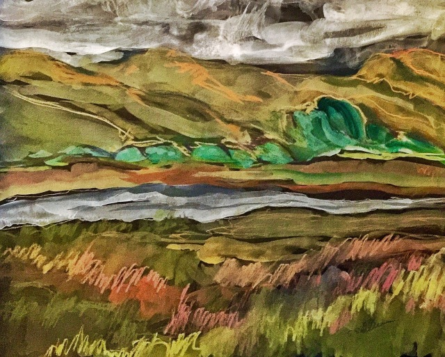 Looking Across Tomales Bay by Sarah Sullivan