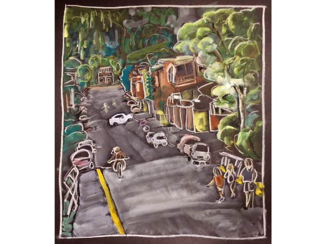 Telluride Street by Sarah Sullivan