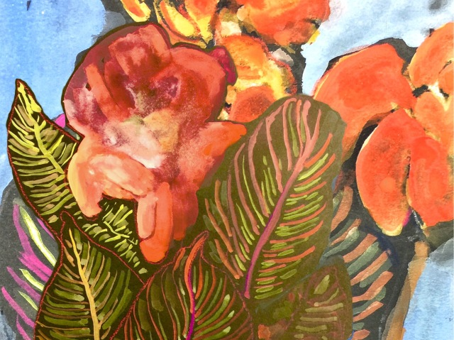 Close-up of an Unnamed Plant by Sarah Sullivan