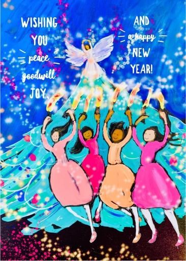Holiday Card 2018 by Sarah Sullivan